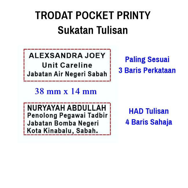 Picture of Pocket Printy Self Inking