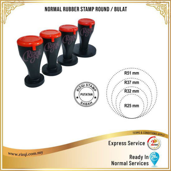 Rubber Stamp Bulat